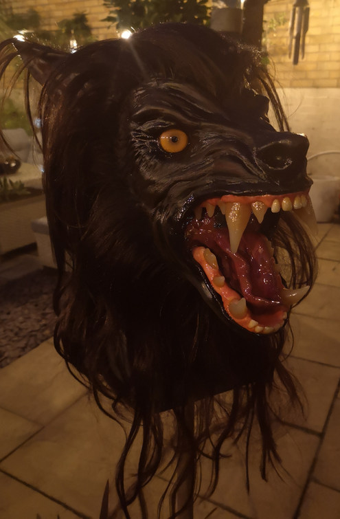 Werewolf mask Tamaska