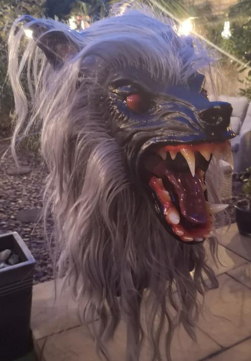 Werewolf mask Amaruq