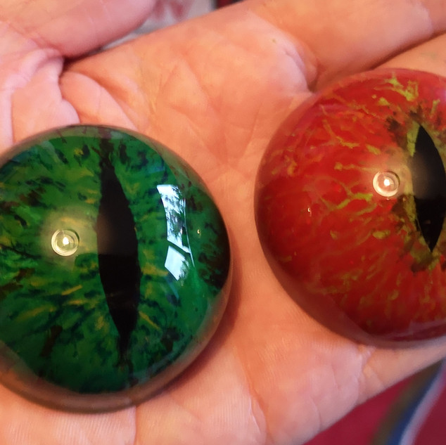 50mm Hand Painted Acrylic Eyes