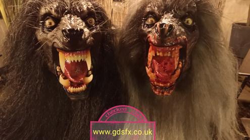 Werewolf masks
