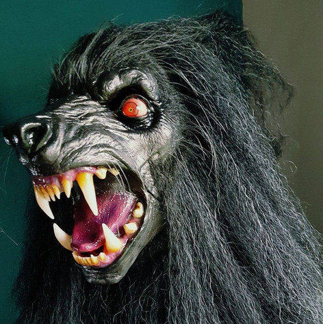 The Lycanthrope Elder Wolf Mask