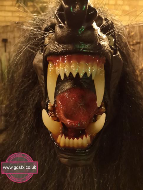 Werewolf mask 'Lycanthrope'