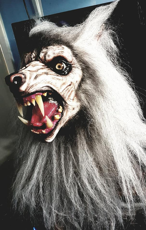 The Lycanthrope Snow Wolf Mask
