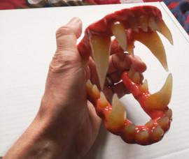Werewolf teeth and gums