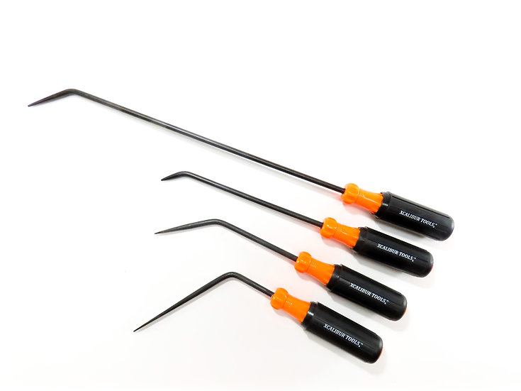 "1/4"" Orange 4 piece Screwdriver Set"