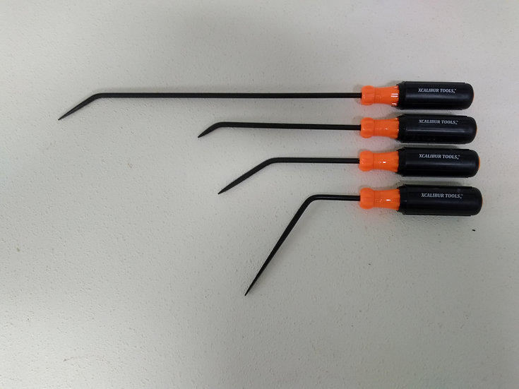 "1/4"" Orange 4 piece Screwdriver Set"