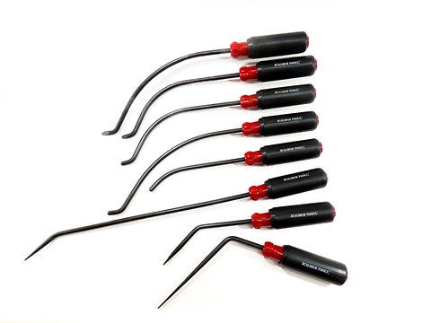 "5/16 "" Red 8 piece Screwdriver Set"