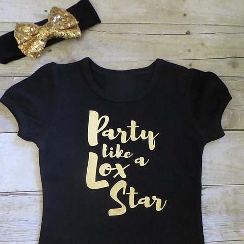 Party like a Lox Star Kid's Shirt