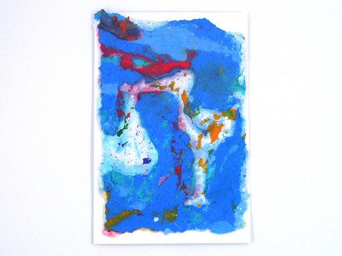 Stork Birthday/Baby Card