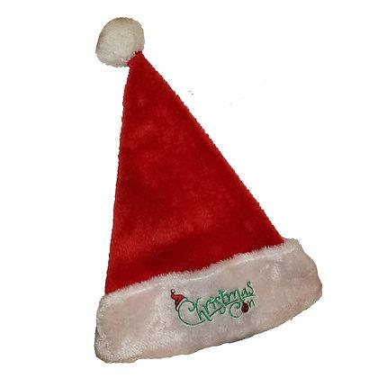 Christmas Con Santa Hat
