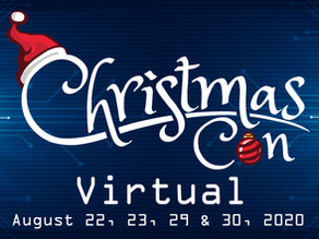 Christmas Con Virtual - First Guests!