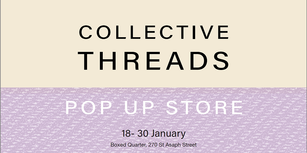 Collective Threads Pop-Up @ BOXed Quarter