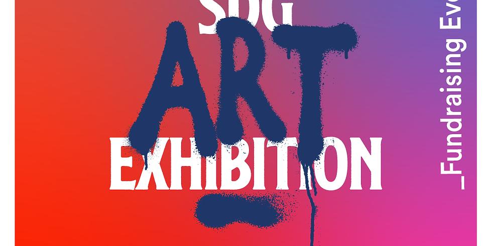 SDG Art Exhibition - Launch Night