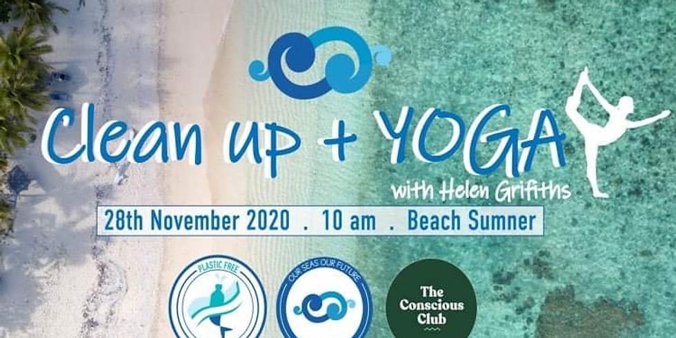 Sumner Beach Clean & Yoga