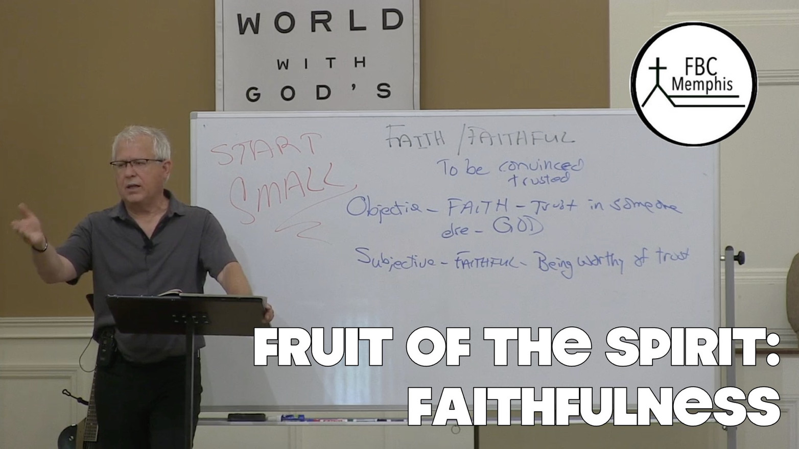 Wednesday Devotional: Fruit of The Spirit (Faithfulness)