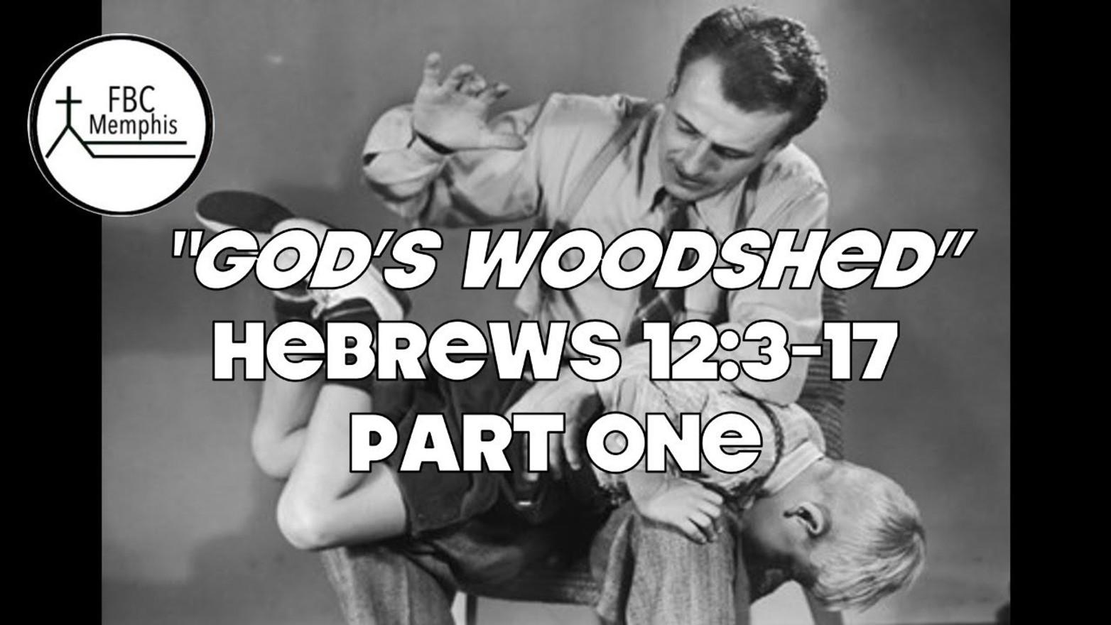 """""""God's Woodshed"""" (Hebrews 12:3-17) (Part One)"""