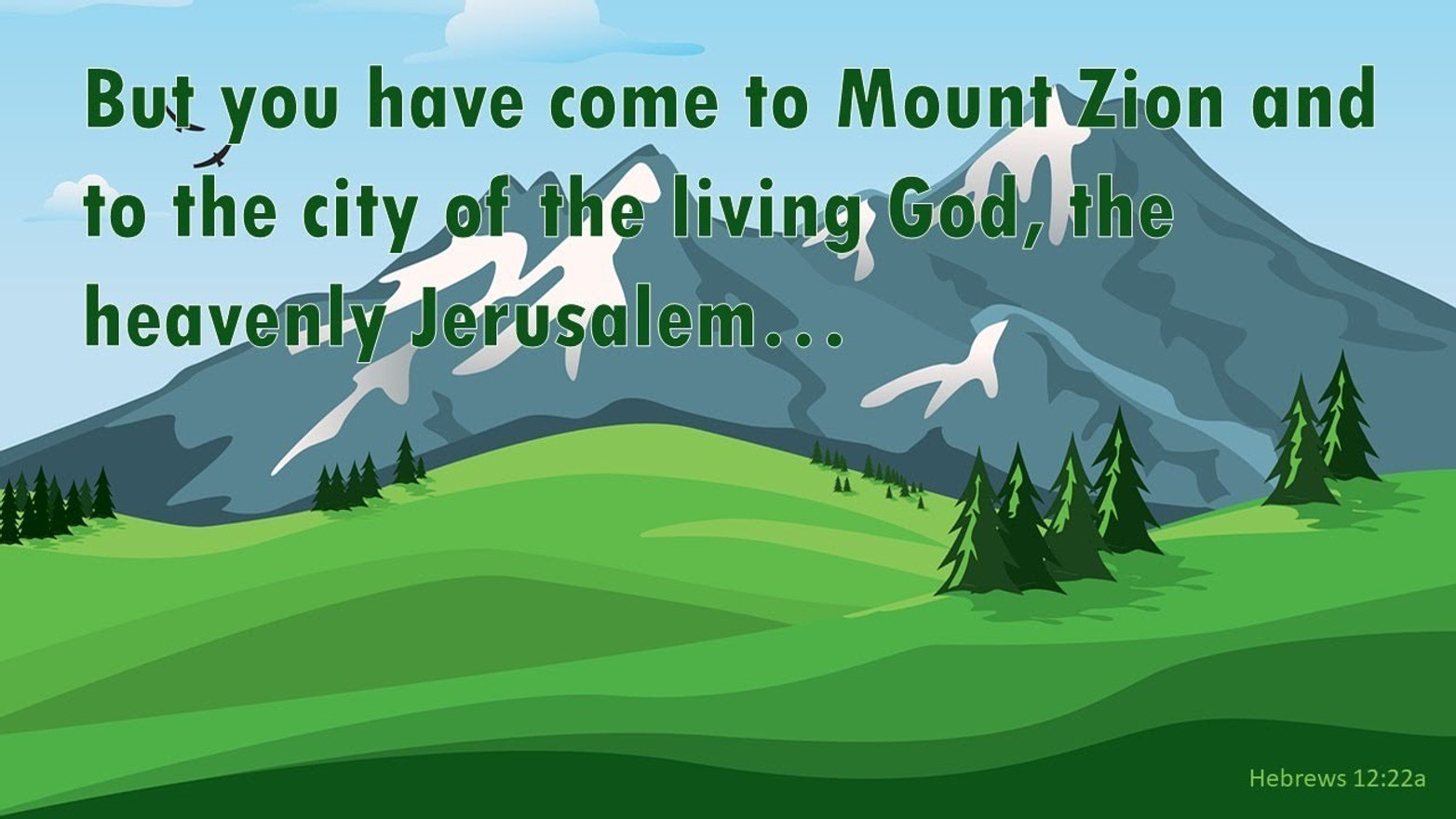 Our Mountain (Hebrews 12:18-29)