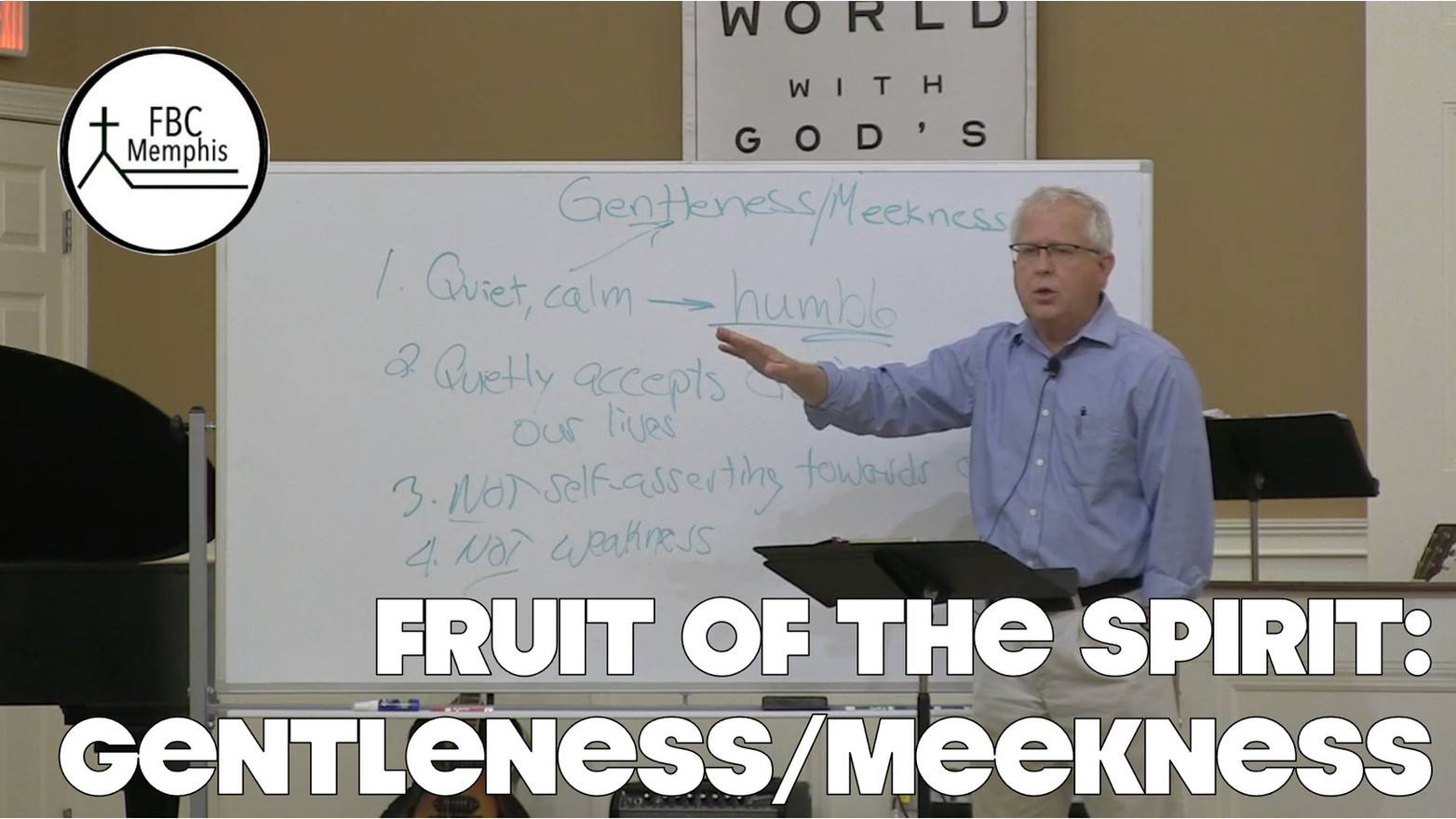 Wednesday Devotional: Fruit Of The Spirit (Gentleness/Meekness)