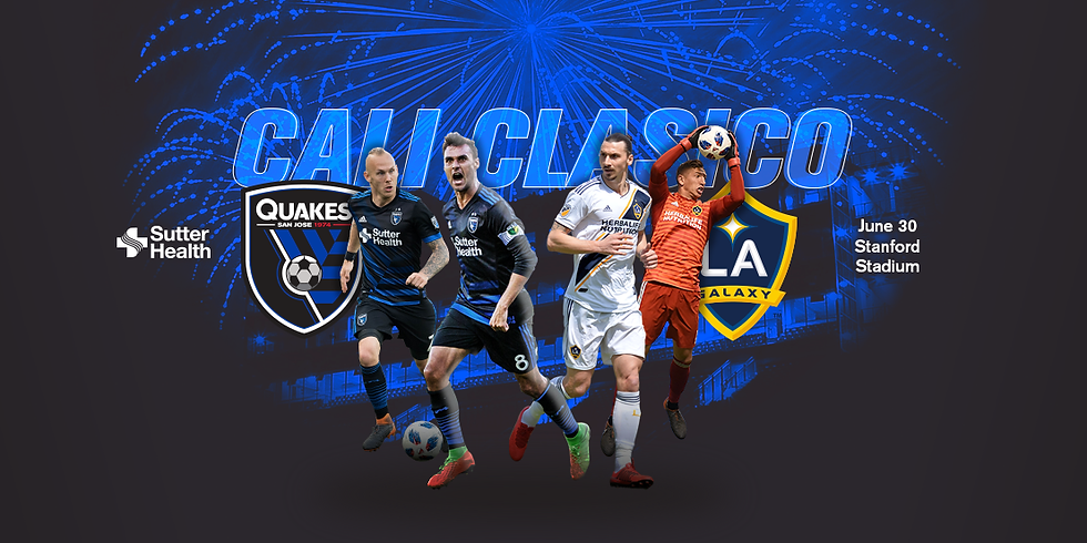 Parents Night Out: SJ Earthquakes vs LA Galaxy Soccer Game and Fireworks