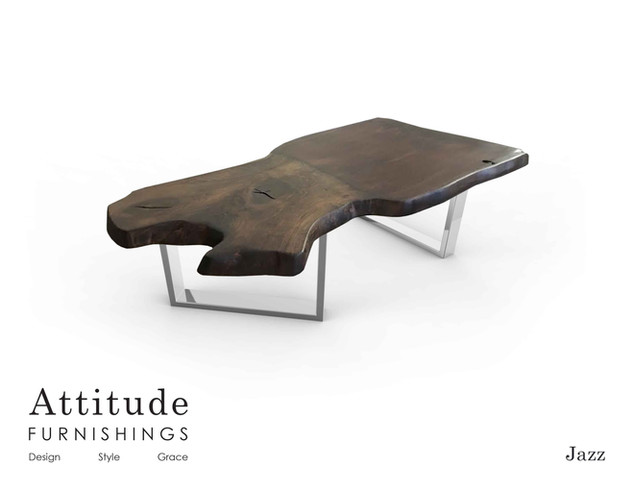 Jazz Live Edge Coffee Table