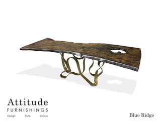 Blue Ridge Live Edge Dining Table 2