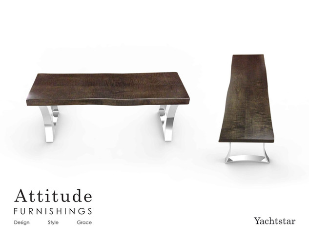 Yachstar Live Edge Coffee Table 1