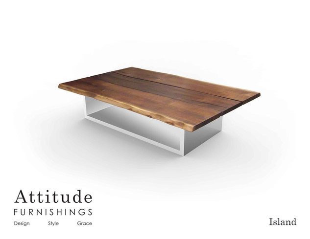 Isand Live Edge Coffee Table