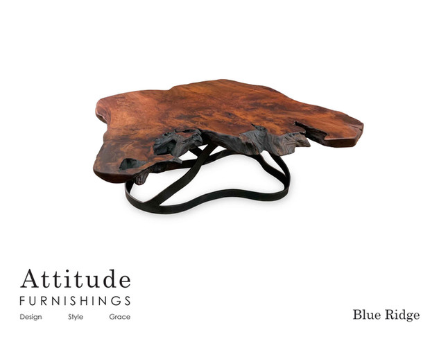 Blue Ridge Live Edge Coffee Table