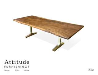 Elle Live Edge Dining Table 3
