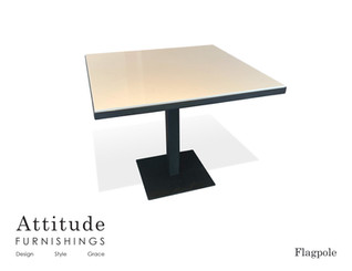Flagpole Dining Table