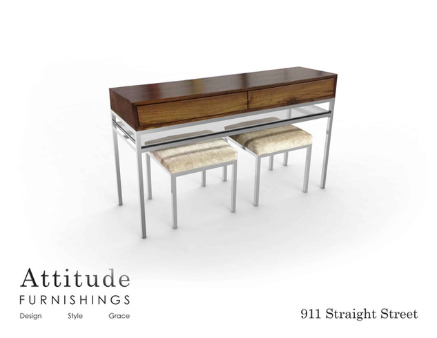 911 Straight Street Console Table 1