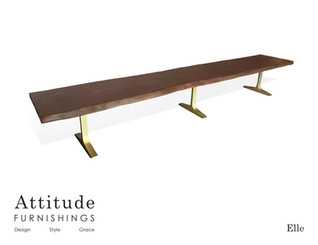 Elle Live Edge Dining Table 4