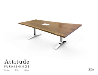 Elle Live Edge Conference Table