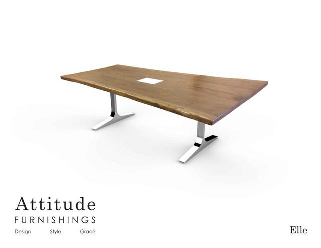 Elle Live Edge Conference Table