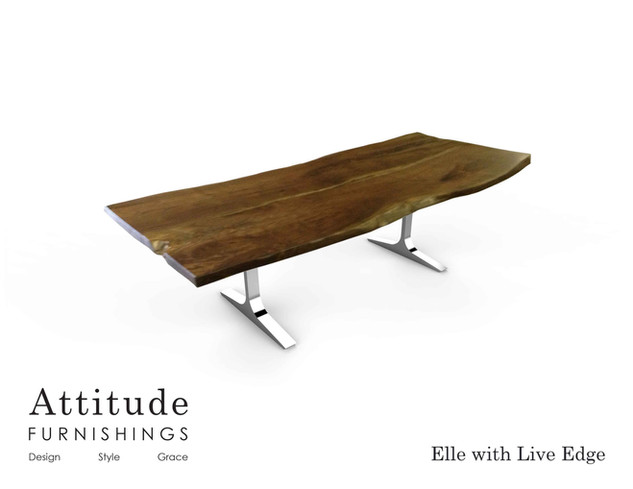 Elle Live Edge Dining Table 2