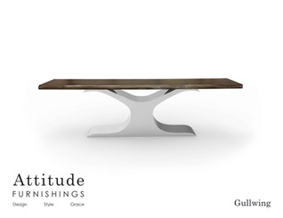 Gullwing Console Table