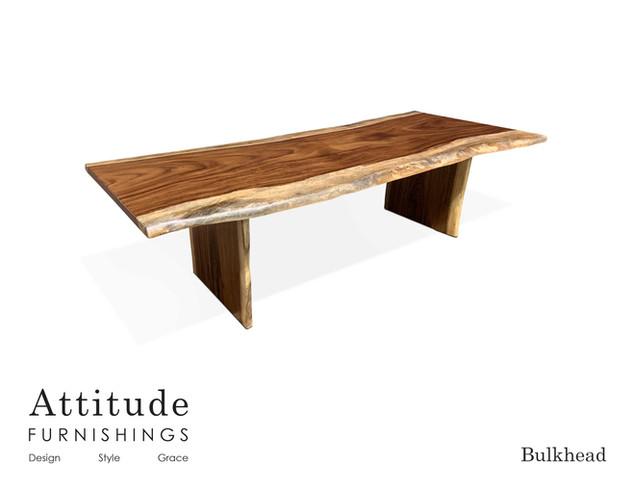 Bulkhead Live Edge Dining Table