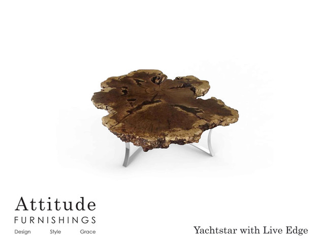 Yachstar Live Edge Coffee Table 2