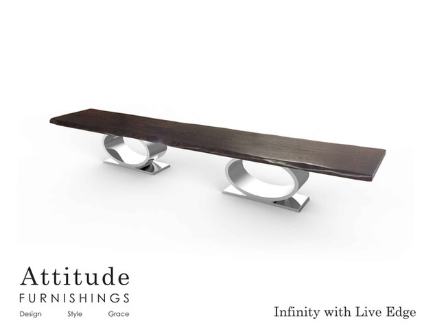 Infinity Live Edge Dining Table 5