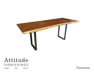 Causeway Live Edge Communal Table 4