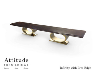 Infinity Live Edge Conference Table 2