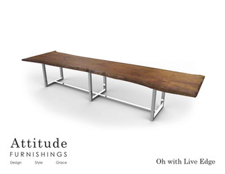 Oh Live Edge Conference Table 2