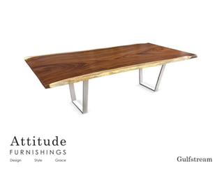 Gulfstream Live Edge Dining Table 7