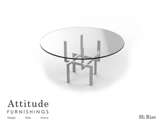 Hi Rise Dining Table 2