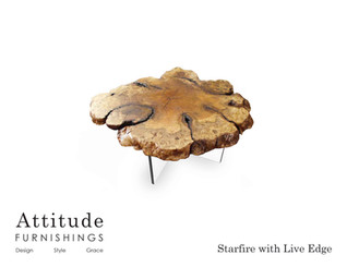 Starfire Live Edge Coffee Table