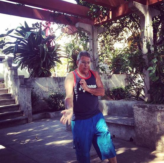 Wing Chun training in the shades of Gran