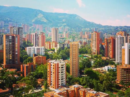 Finally arrived in Medellín