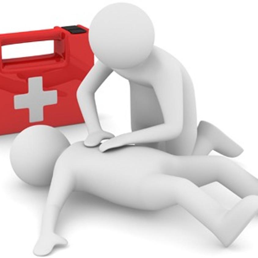 Cours de secourisme d'urgence (priorité au niveau 2 et +)