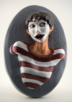 Marie the Mime (Painted)