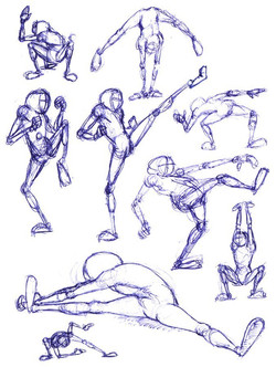 Marvin II Thumbnail Sketches